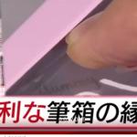 指先落とすダイソーの筆箱はこれだ!刃物になる理由は2つ!解説画像有!